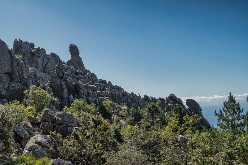 corse; corsica; uomo; cagna; mountain;landscape L\'Uomo di Cagnaphoto preview