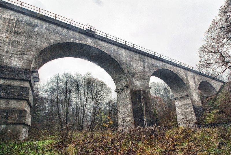 Осень. Старые мосты.photo preview