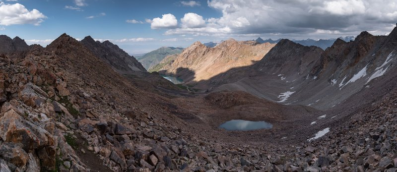 Терскей, Межозёрный, перевал, горы Перевал Межозёрныйphoto preview