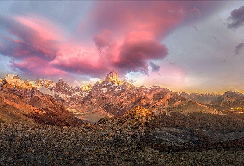 Рассвет в  Патагонииphoto preview