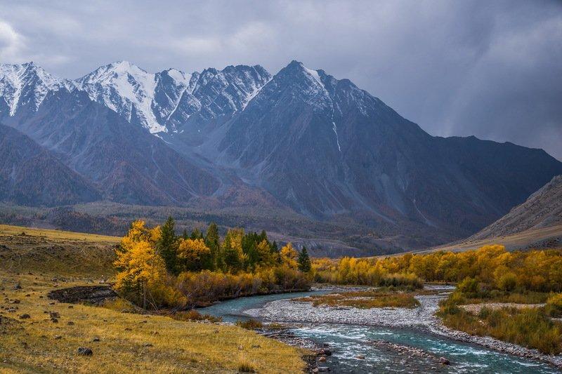 горы. осень. алтай. Осень на Алтае.photo preview