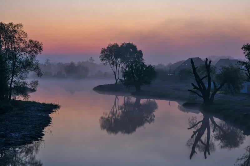 река нежеголь,рассвет,туман Другой мирphoto preview