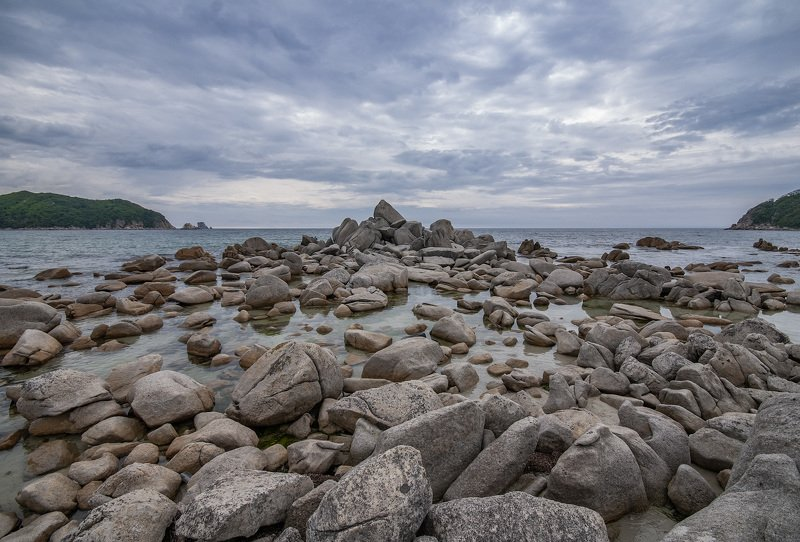 Sea, Beach, Nature, Rock - Object, Coastline, Landscape, Scenics, Water, Outdoors, Summer, Cloud - Sky, Sky, Stone - Object, Seascape, Island, Travel, Vacations, Blue, Sand, No People Россыпьphoto preview