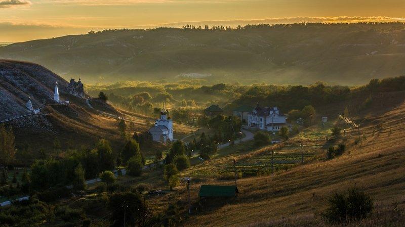 монастырь,костомарово,утро,рассвет,воронежская область Утро в женском монастыреphoto preview