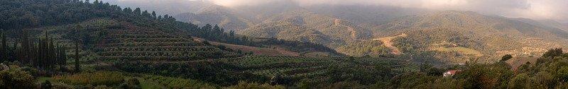 горы, киарис, sunrise, афон, landscape Панорамаphoto preview