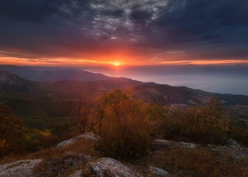 Рассвет на Южной Демерджиphoto preview