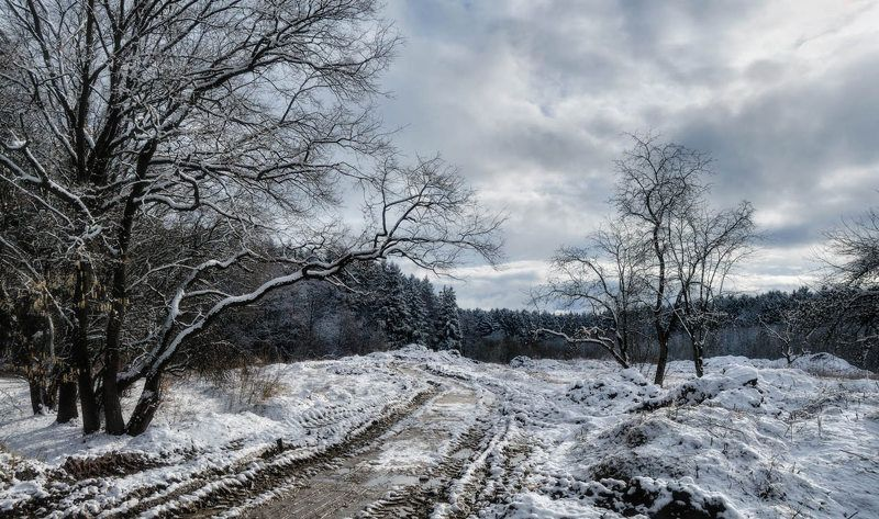 а, наутро, выпал, снег... photo preview