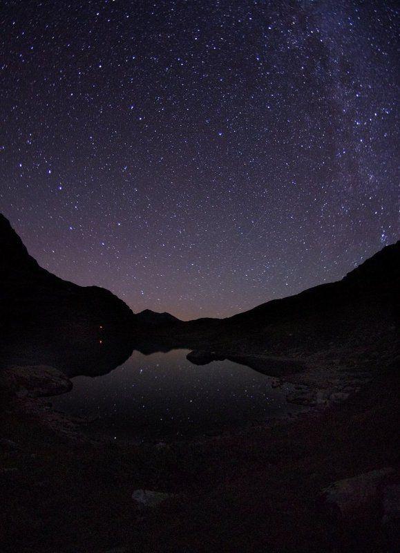 имеретинка, ночь, звезды, млечный путь Немного млечного пути.photo preview