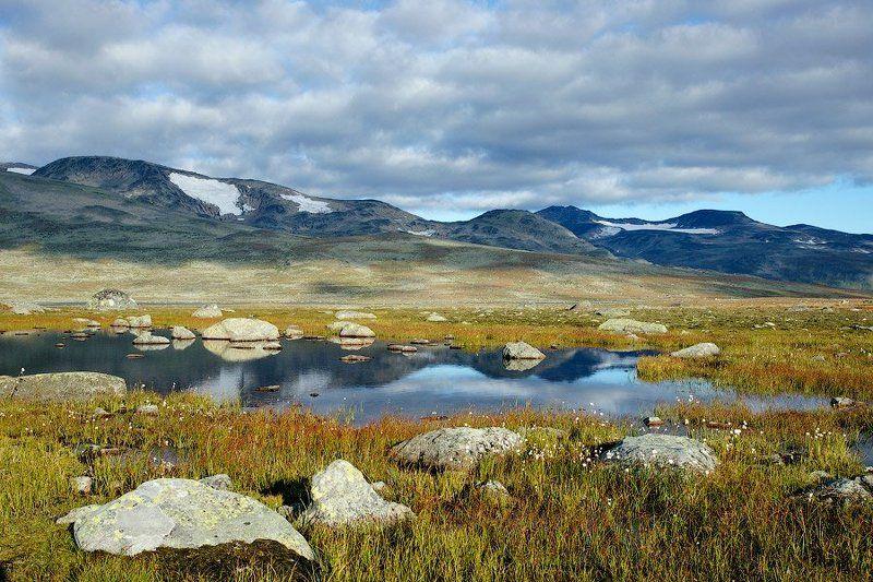 норвегия, горы, плато Норвежское..photo preview