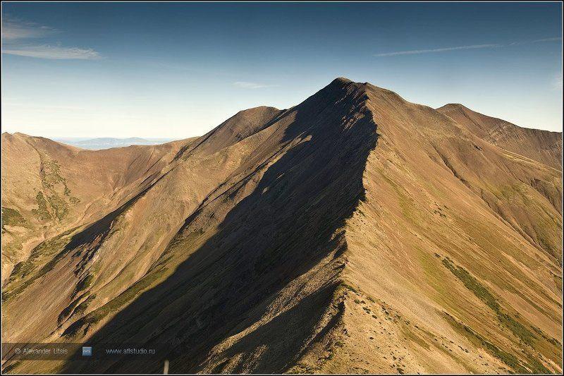 горы,хребет,одиночество,камчатка Хребетphoto preview