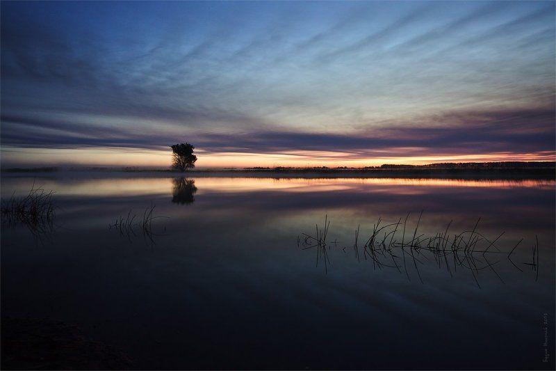 рассвет, утро, вода, пейзаж, природа В ожидании рассветаphoto preview