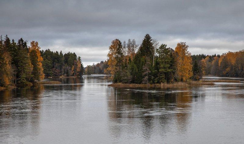 швеция Островки осенниеphoto preview