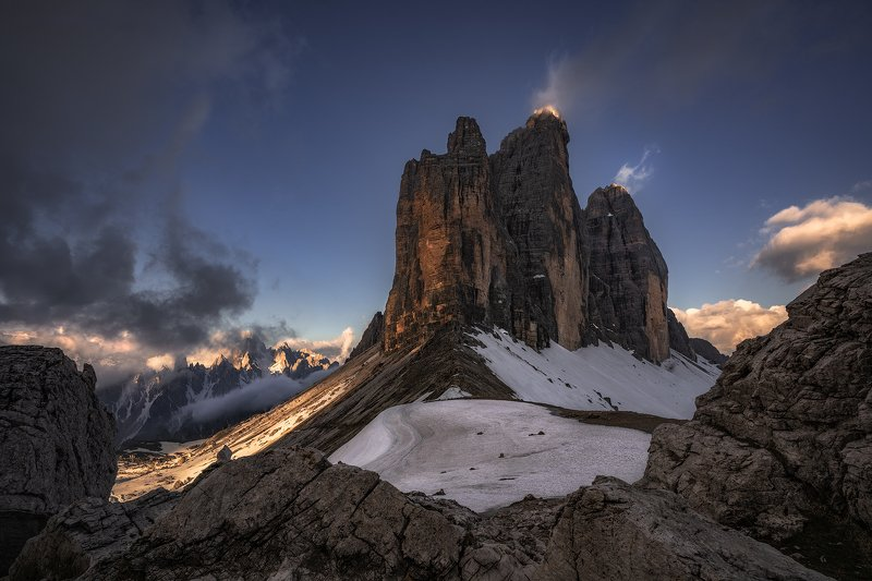 alps, Awakening, Beauty, Chalk Stone, Cliffs, Clouds, Dolomites, fog, foggy, hiking, Italy, Klimbing, mist, Misty, morning, Morning Glow, Mountain Range, Mountain Top, Mountaineers, mountains, nature, outdoors, Pinnacles, Rocks, scenic, Snow, snow-capped, Fire and Icephoto preview