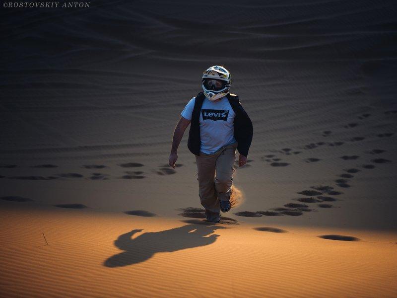 Марсианин, фототур, марокко, пустыня, человек Марсианинphoto preview