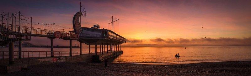 утро, рассвет, аврора, черное море, ялта, крым, россия Apelsin\'овый рассвет.photo preview