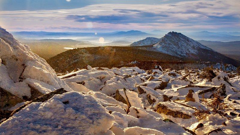 зима, таганай, горы, откликной гребень, южный урал Таганай в Ноябреphoto preview