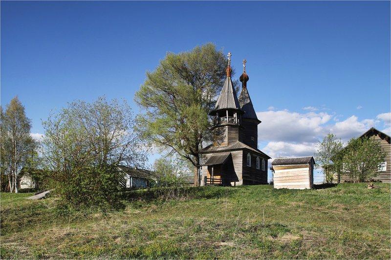май, весна, каргополье, архангельская область, путешествие, деревянный храм, По Каргополью.photo preview