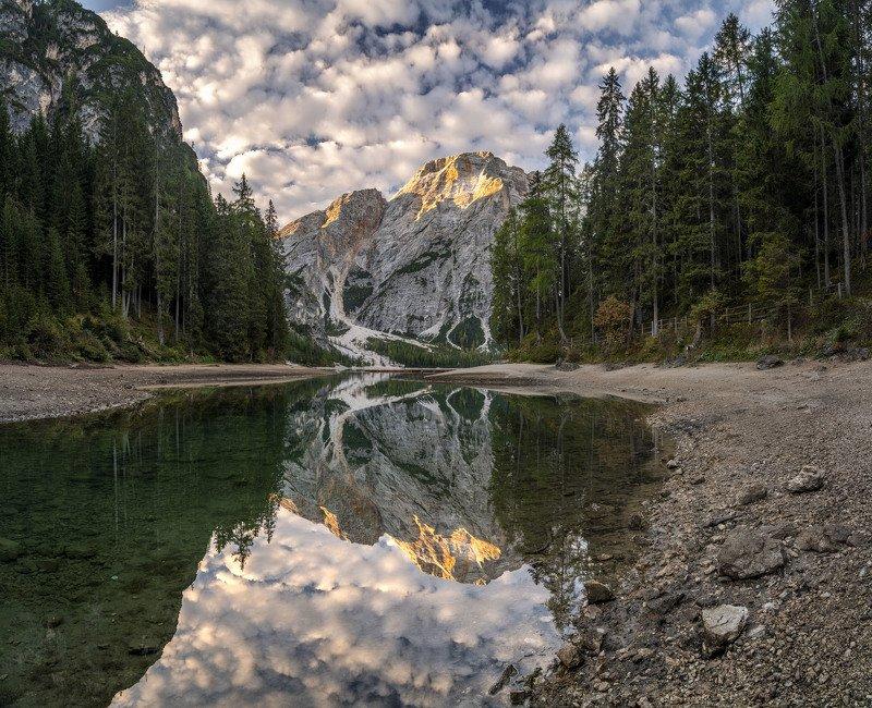 Утро на озере Брайесphoto preview