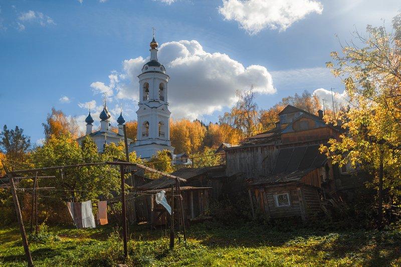 плёс,осень,город,двор,церковь Во двореphoto preview