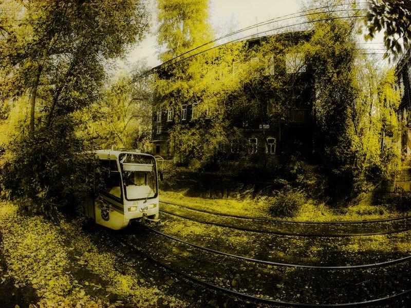 Время Жёлтого трамвая.photo preview