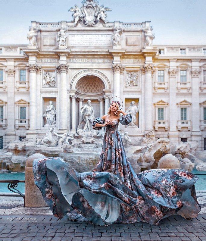 people italy portreit dzhul irinadzhul dress dream Di Treviphoto preview