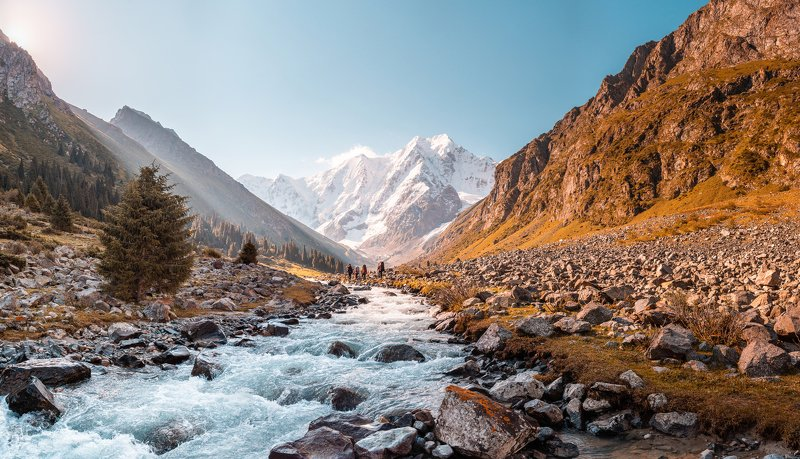 Терскей, Киргизия, Айланыш, горы, рассвет Айланышphoto preview