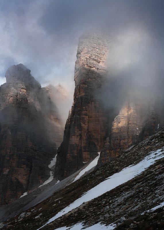 dolomiti, moon, alpi Tre Cimephoto preview