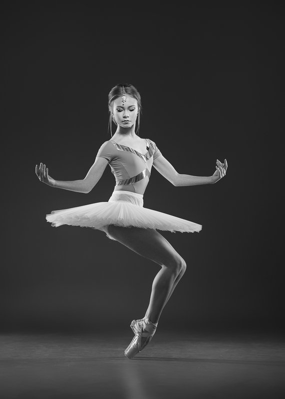 балет пуанты Плие на остриеphoto preview