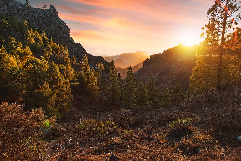 roque nublo, spain, gran canaria Roque Nublophoto preview