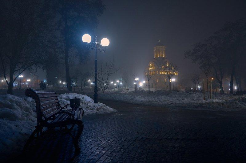 Вечерний сквер...photo preview