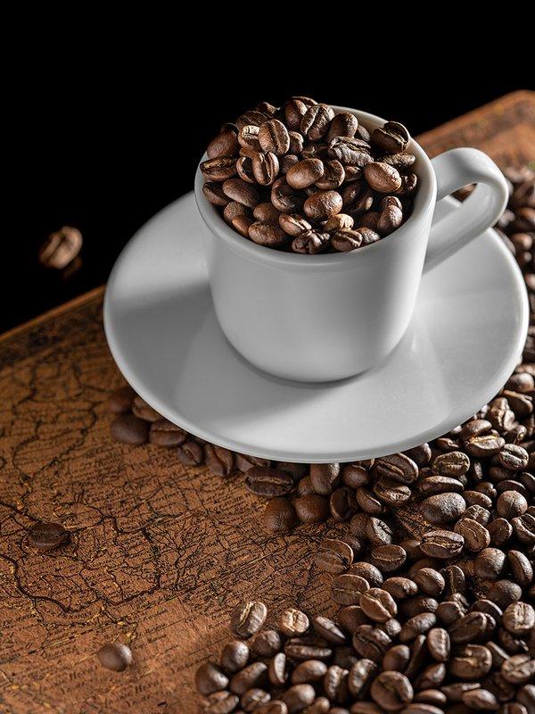 кофе, чашка, зерна, coffee? напиток, утро, черный, арабика Coffeephoto preview