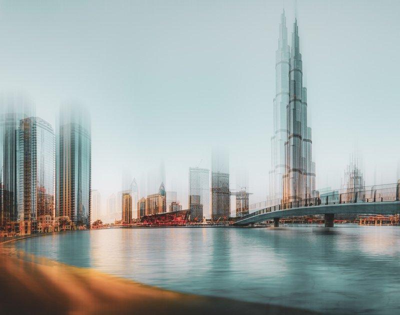 city, abstract, conceptual , dubai, uae, creative, asia. beauty Dubaiphoto preview