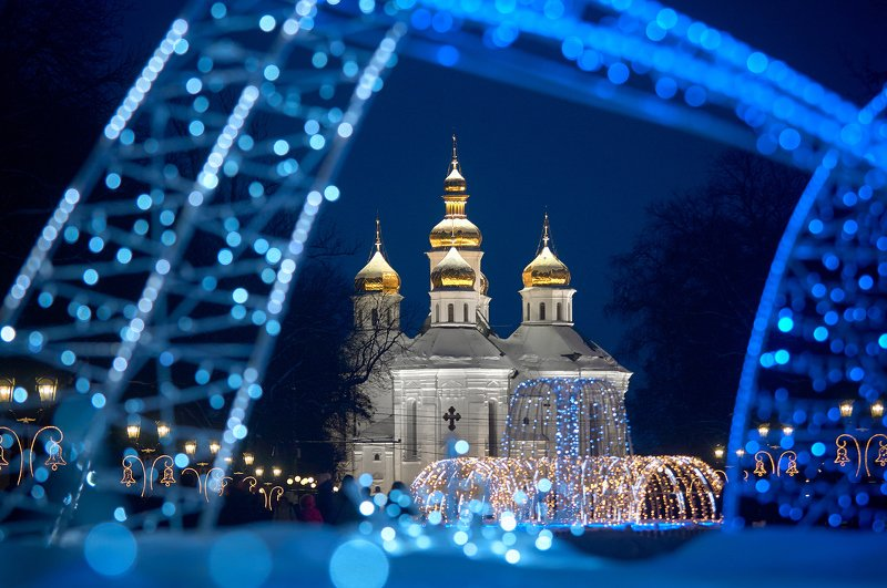 Christmas illumination...photo preview