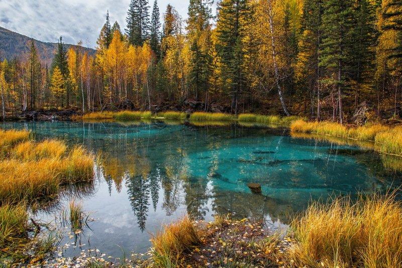 озеро. горы. алтай. осень. Гейзеровое  озероphoto preview