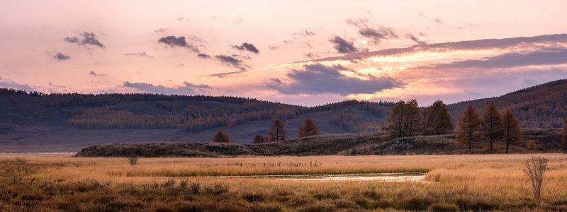горы, алтай, горный алтай, ник васильев, красота, вода, озеро джангысколь, солнце, панорама, вечер, закат, урочище ештыкёль, северо-чуйский хребет Палитра рассвета.photo preview