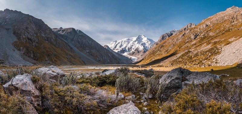 киргизия, терскей, горы Рассвет на Терскееphoto preview