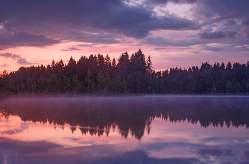 легобласть, питер, закат, туман Кисельные берега . . .photo preview