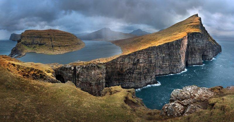 faroe islands,saksun,mulafossur,trælanípa, slave cliff Немного о Фарерских островахphoto preview