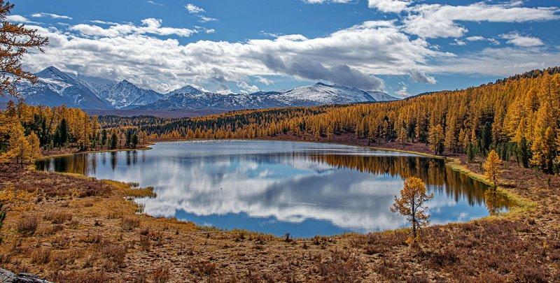 осень. горы. алтай. Осень на Киделю.photo preview