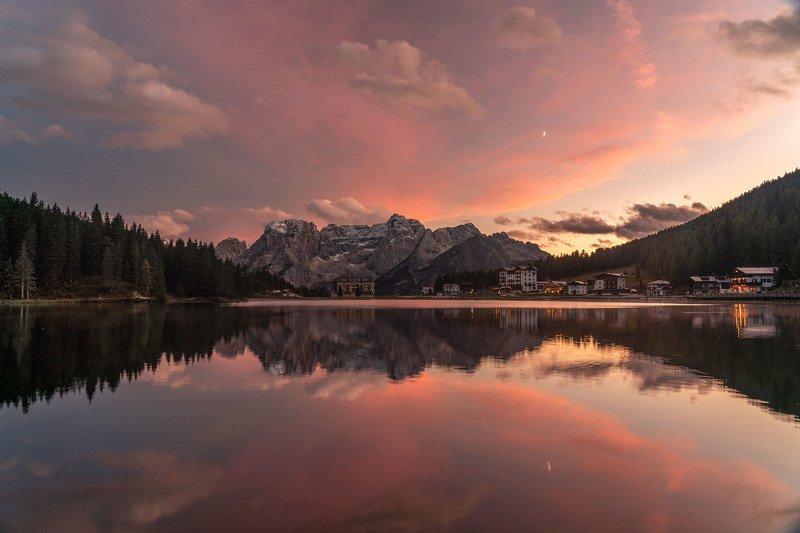 Закат на озере Мизуринаphoto preview