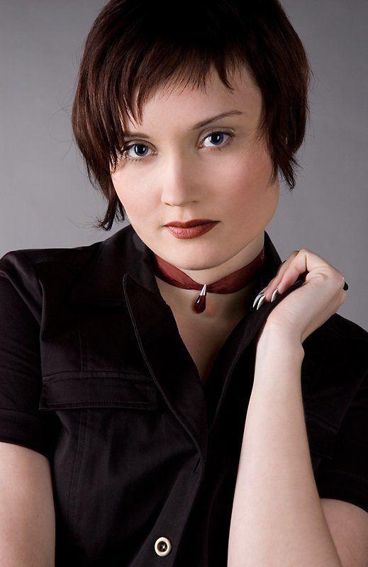 девушкая портрет глаза Настя [1]photo preview
