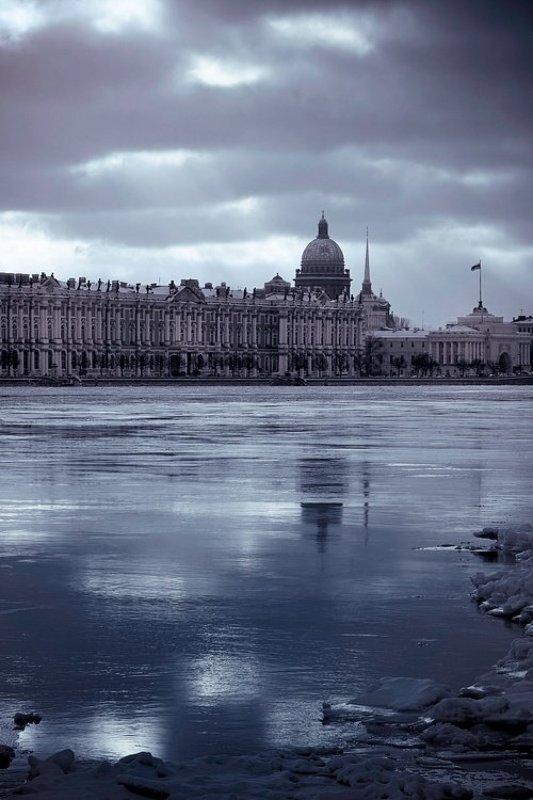 холодный городphoto preview
