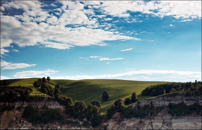 берег, небо, земля Берегphoto preview
