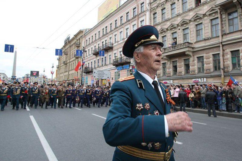 9 мая, санкт-петербург, шествие, ветераны ***photo preview
