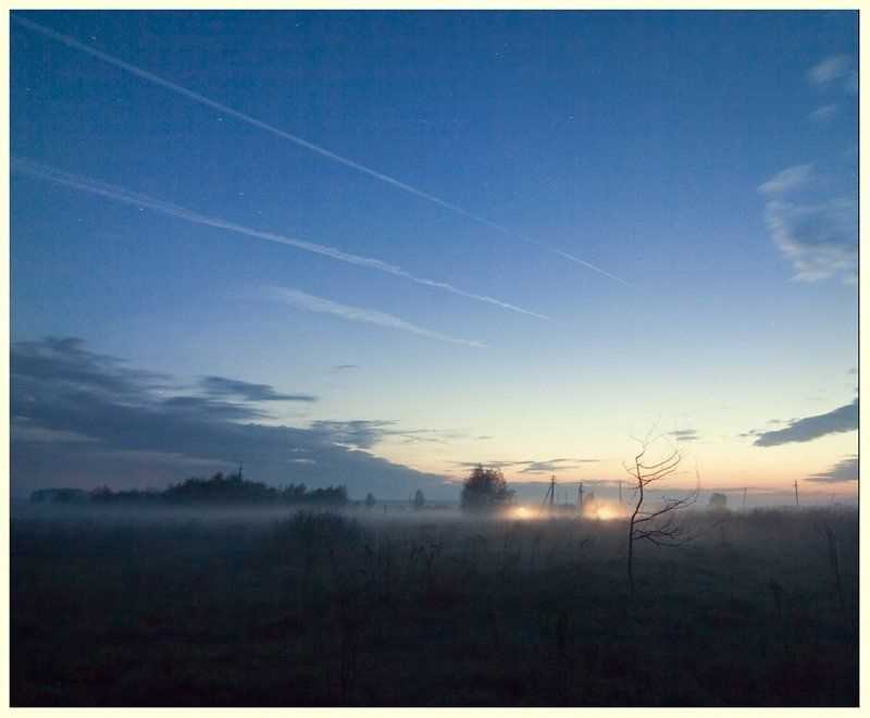 закат,природа,россия,тула,деревня photo preview