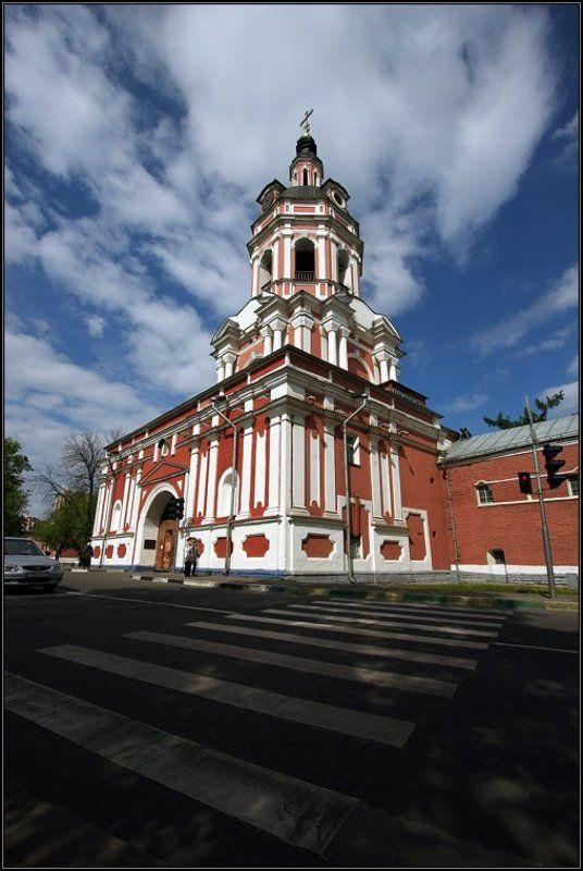 москва, город, донской, монастырь, весна Донскойphoto preview