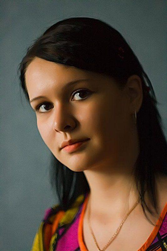 Портрет. Вечерний взор.photo preview