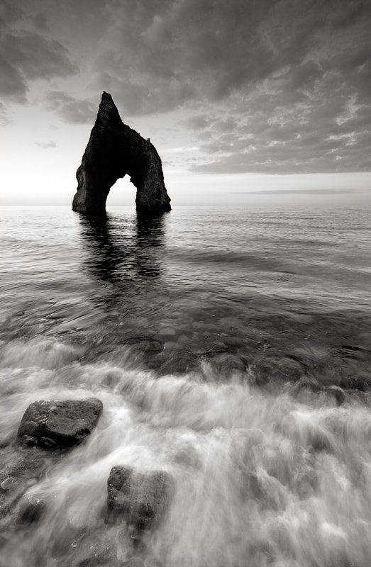крым, вксна, море, скалы, утро, восход Pure Morningphoto preview