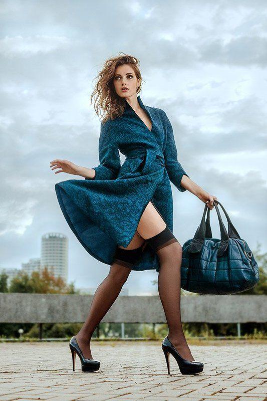 fashion, walking model, dress, bag photo preview