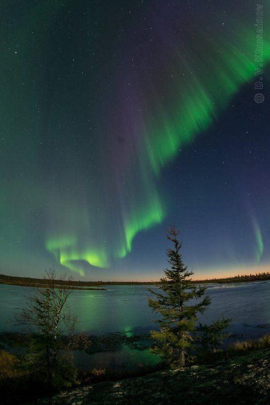 aurora borealis, северное сияние, север, ночной пейзаж, Aurora Borealis 2012 #2photo preview